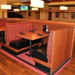 Booths and millwork