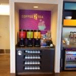 Custom Hotel Coffee Bar