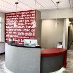 Fitness Studio Custom Reception Desk