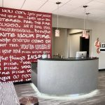 Reception Desk for Fitness Studio