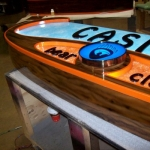 Custom Designed Interior Casino Sign