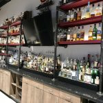 Commercial Cabinets and Custom Liquor Shelves