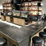 Custom Bar with Cambria Quartz Countertops