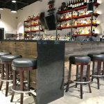 Custom Built Bar and Liquor Shelving