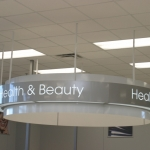 Ceiling Hung Directional Signage