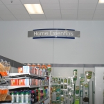 Directional Sign for Retail Store