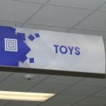 Retail Department Signage