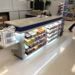 Cashier Cabinetry and Retail Shelving