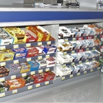 Retail Shelving at Cashier Stand