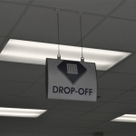 Ceiling Hung Interior Signage