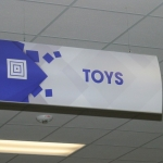 Interior Directional Retail Signage