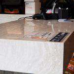 "6"" Mitered Cambria Quartz Countertops"