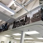 Custom Vinyl Wall Graphics Mounted to Soffit