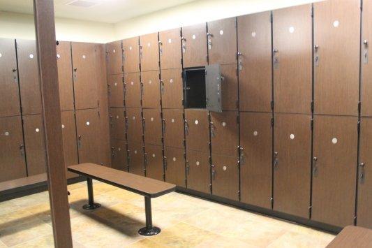 Locker Rooms Design Build Installation