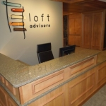 Custom Commercial Reception Desk