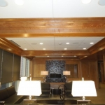 Custom Coffered Commercial Ceiling
