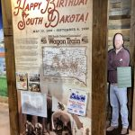 History Wall for McCrossan's Visitor Center