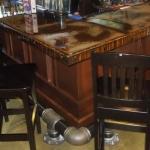 Solid Alder Wood Restaurant Cabinets