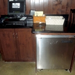 Custom Cabinetry for Waitress Station
