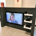 Free-Standing Commercial TV Display