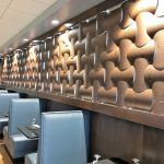 Custom Wall Panels with Back Lighting