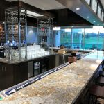 Cambria Quartz Countertop in Langford Lounge