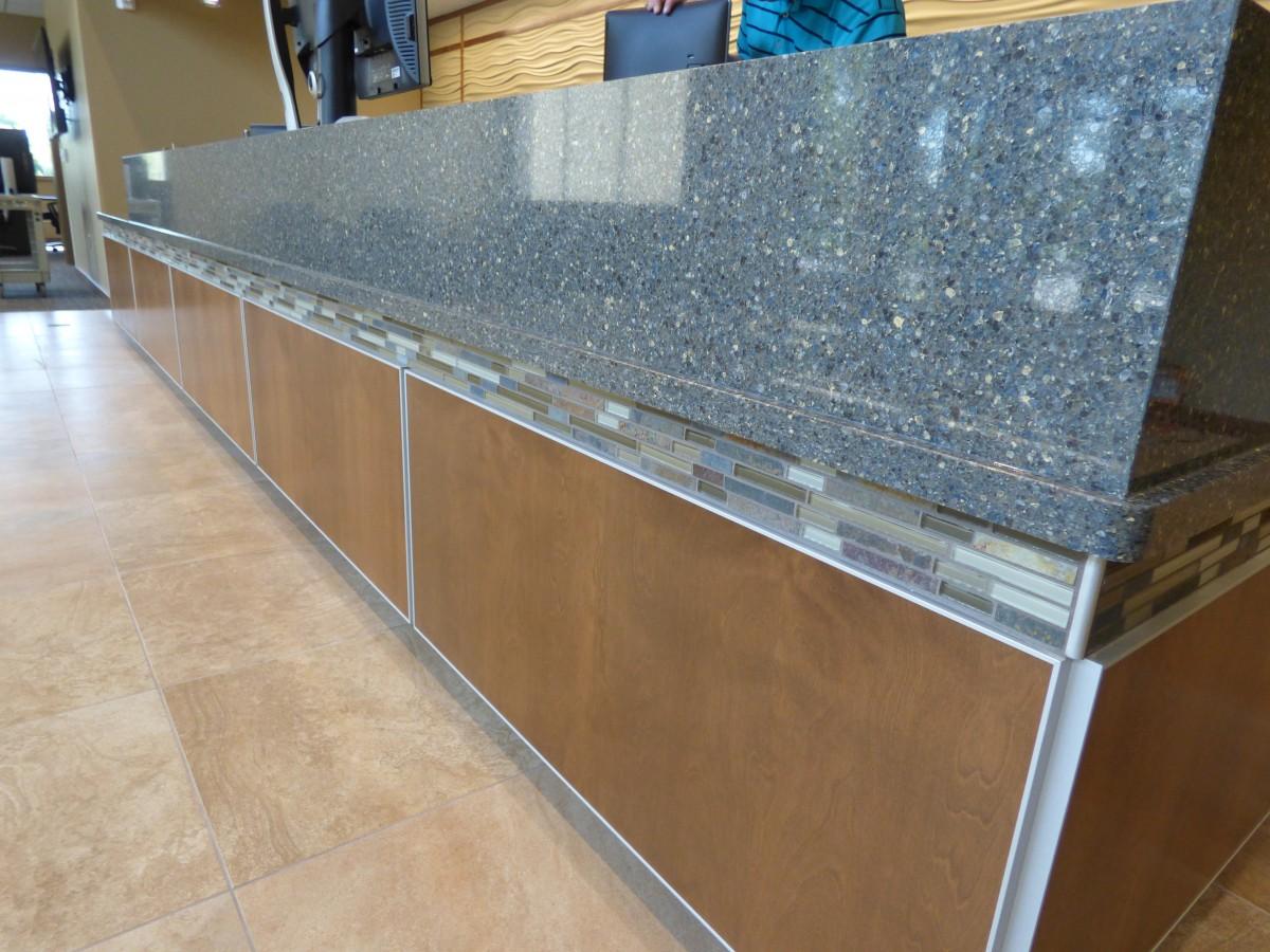 Custom Built Commercial Cabinetry. Custom Built Commercial Cabinetry