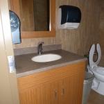 Custom Commercial Vanity Cabinet