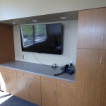 Custom Conference Room Cabinetry