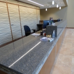 Custom Reception Desk and Countertops