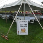2014 Coroplast Staked Lunch Sign