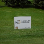 2014 Orion Golf Classic Hole Sign