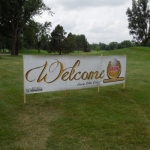 2014 Orion Golf Classic WELCOME Sign
