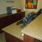 Cash Wrap Desk