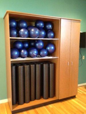 Fitness Center Custom Millwork