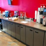 Coffee Shop Cabinets & Countertops