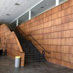 Paneled Lobby Wall