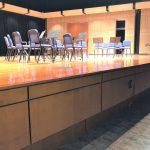 Birch Veneer Panels on Face of Recital Stage