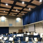 Ceiling Clouds in Band Rehearsal Hall