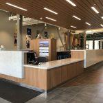 High End Custom Cabinetry for SDSU Wellness Center