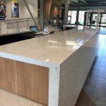 Cambria Quartz Countertops on Check In Desk