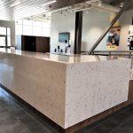 Cambria Quartz Check In Desk