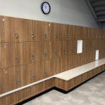 Triple Stack Hallway Lockers