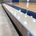 Cambria Quartz Countertops on Benches at SDSU