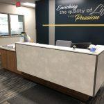 Custom Reception Desk for SDSU