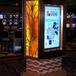 Free Standing Touch Screen Cabinet