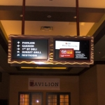 Interior Casino Signage