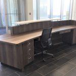 Reception Desk for Auto Dealer