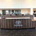 Toyota Reception Desk Cabinetry