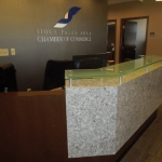 Custom Designed Reception Desk